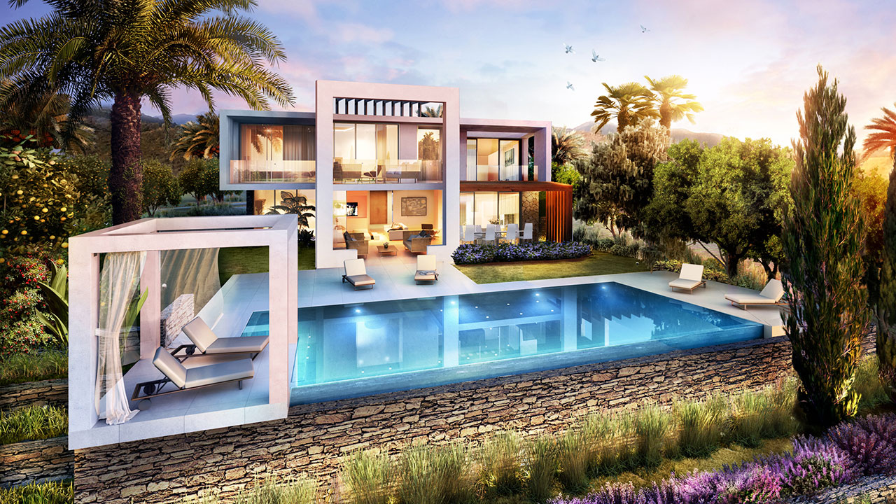 Amazing Detached Villas for Sale in Marbella