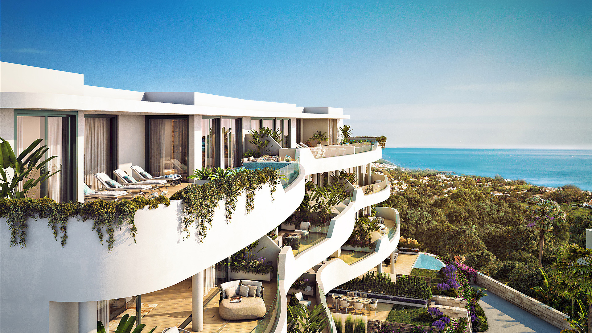 Sunset Bay Village - Modern Villas in Estepona